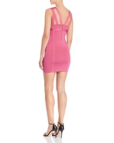 GUESS - Mirage Strappy Body-Con Mini Dress