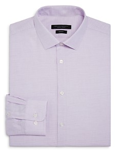 John Varvatos Star USA - Micro-Checked Slim Fit Dress Shirt