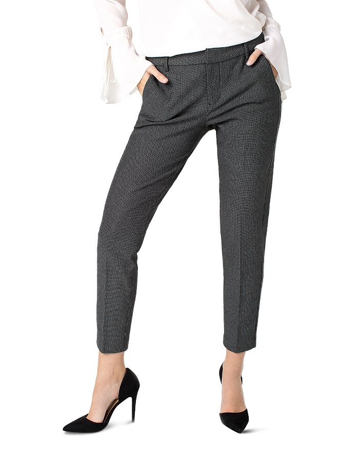 Liverpool - Kelsey Check Slim Ankle Pants