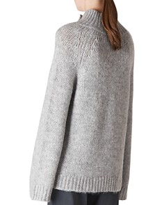 Whistles - Funnel-Neck Button-Detail Sweater