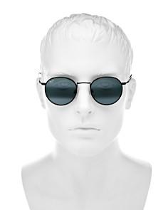 Maui Jim - Women's Nautilus Polarized Mirrored Round Sunglasses, 50mm