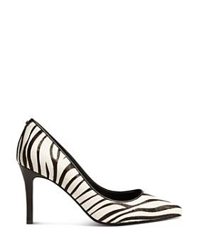 KAREN MILLEN - Women's Zebra High-Heel Pumps