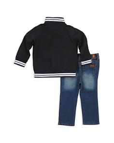 7 For All Mankind - Boys' Varsity Zip Jacket, Tee & Jeans Set - Baby