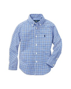 Ralph Lauren - Boys' Gingham Button-Down Shirt - Little Kid