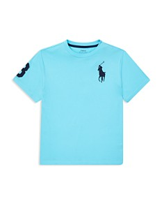 Ralph Lauren - Boys' Cotton Jersey Crewneck Tee - Big Kid