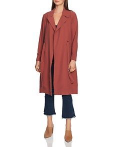 1.STATE - Belted Soft-Twill Trench Coat