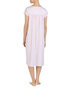 Eileen West - Ballet Floral Print Cap Sleeve Nightgown