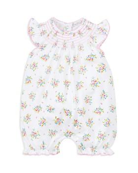 41c446b2cec Kissy Kissy - Girls  Smocked Floral Print Romper - Baby