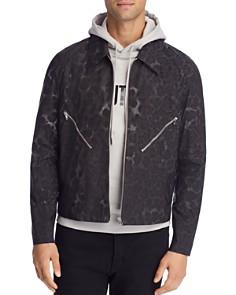 Helmut Lang - Reflective Leopard Zip Jacket