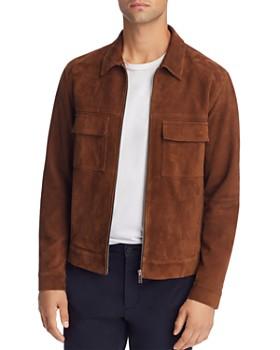 Theory - Jamie Suede Zip Jacket - 100% Exclusive