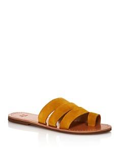 Marc Fisher LTD. - Women's Rilee Flat Slide Sandals