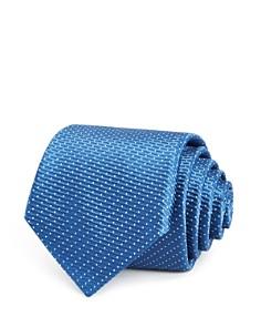 BOSS - Textured-Dot Silk Classic Tie