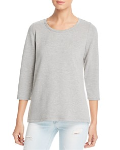 Status by Chenault - Eyelet Back Top