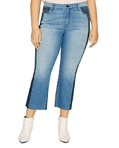 Sanctuary Curve - Modern Standard Straight-Leg Jeans in Noho Arts
