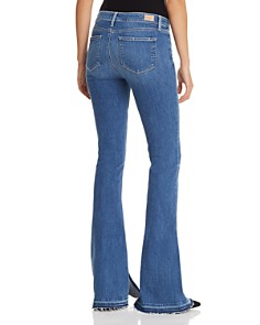 PAIGE - Lou Lou Flare Jeans in Annabelle
