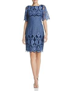 Adrianna Papell - Lace Sheath Dress