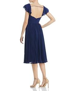 Fame and Partners - Willa Pleated Chiffon Dress