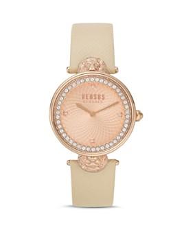 Versus Versace - Versus Victoria Harbour Rose Gold-Tone Watch, 34mm