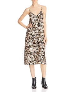 ATM Anthony Thomas Melillo - Leopard-Printed Silk Slip Dress