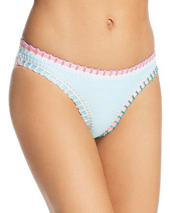 Platinum inspired by Solange Ferrarini - Stitched Scoop Bikini Bottom - 100% Exclusive