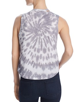 CHASER - Cutout Tie-Dye Muscle Tank