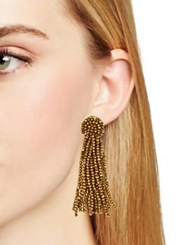 BAUBLEBAR - Beaded Tassel Drop Earrings