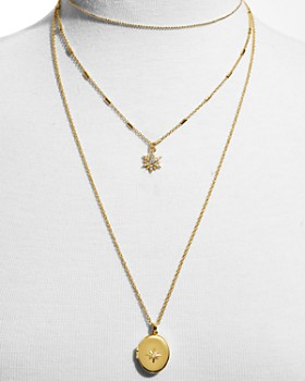 "BAUBLEBAR - Melisandra Multi Strand Pendant Necklace, 13""-24"""