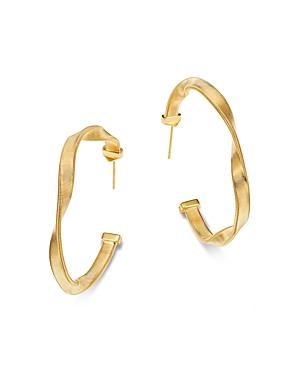 Marco Bicego 18K Yellow Gold Hoop Earrings