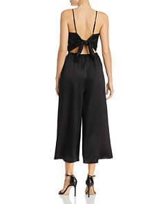 CAMI NYC - Shilo Tie-Back Silk Jumpsuit