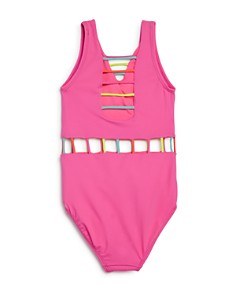 Peixoto - Girls' The Jade Strappy Cutout One-Piece Swimsuit - Little Kid, Big Kid