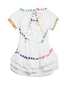 Peixoto - Girls' Nissi Pom-Pom Dress - Big Kid