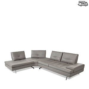 Giuseppe Nicoletti Toffee Sectional - 100% Exclusive