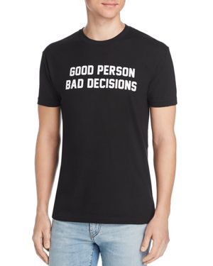 KID DANGEROUS Good Person Tee in Black
