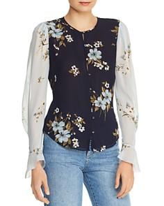 Joie - Abboid Floral-Silk Top