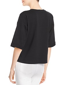 Eileen Fisher - Cropped Tee