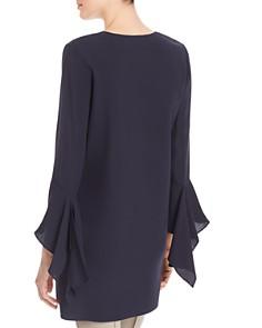 Lafayette 148 New York - Rosita Silk Flutter Sleeve Blouse