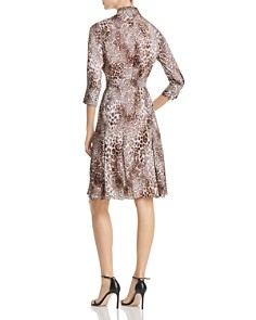 Elie Tahari - Brinx Leopard Print Dress