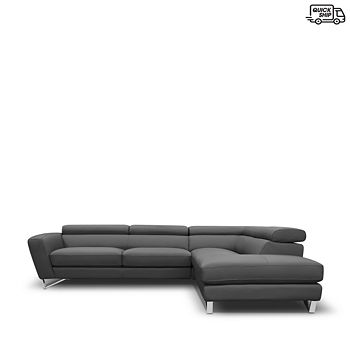 Nicoletti - Delancey Right Facing Sectional - 100% Exclusive
