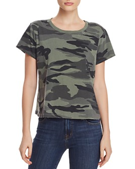 Splendid - Short-Sleeve Camo Tee