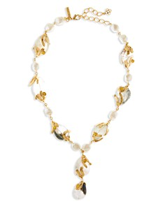 Oscar de la Renta - Caged Beads Necklace, 22.5""