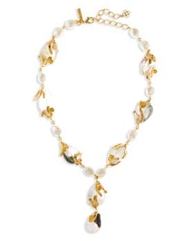 """Oscar de la Renta - Caged Beads Necklace, 22.5"""""""