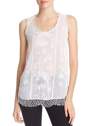 Johnny Was - Quynn Embroidered Tank