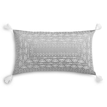 "Sky - Alondra Embroidered Decorative Pillow, 14"" x 24"" - 100% Exclusive"
