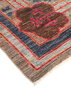 """Solo Rugs - Arts & Crafts Collection Palmette Hand-Knotted Area Rug, 11'8"""" x 14'6"""""""
