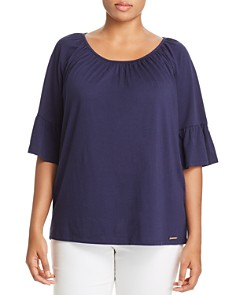 MICHAEL Michael Kors Plus - Plus Bell-Sleeve Top