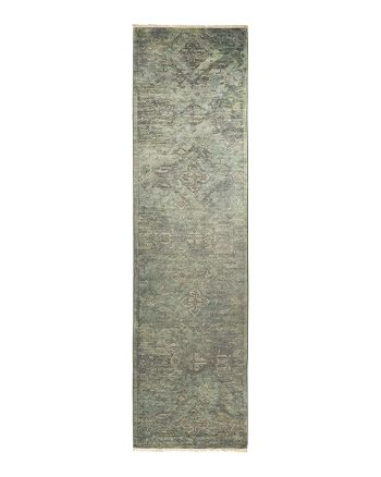 "Solo Rugs - Vibrance Collection Vita Hand-Knotted Runner Rug, 2'8"" x 10'"