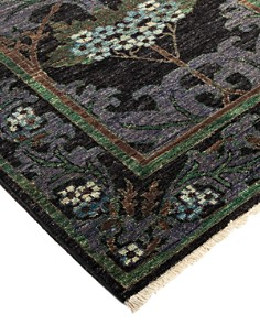 "Solo Rugs - Arts & Crafts Gailac Hand-Knotted Area Rug, 2'8"" x 8'4"""
