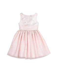 Pippa & Julie - Girls' Gradient Sequins Dress - Little Kid