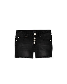 Hudson - Girls' Luna Denim Shorts in Black - Little Kid