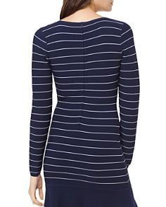 MICHAEL Michael Kors - Striped Long-Sleeve Dress